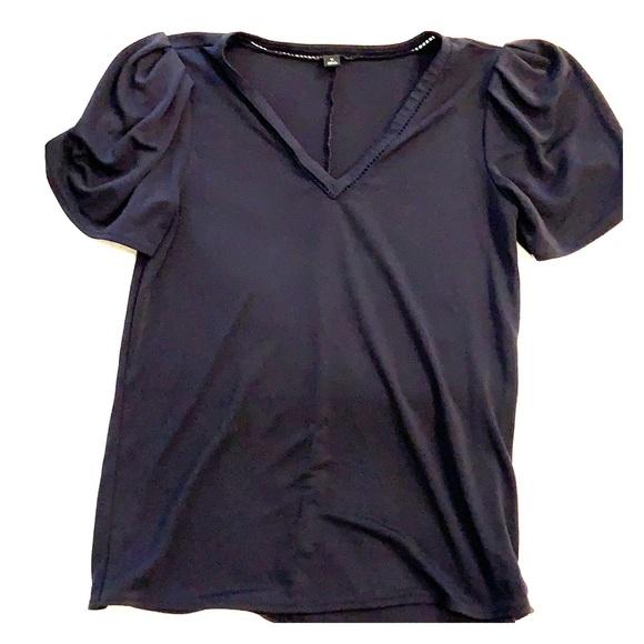 2/$15 xs Ann Taylor navy top